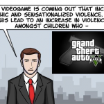 Video games create more violence in our society. Right?