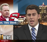 Louisville Sports Reporter Drops the Mic