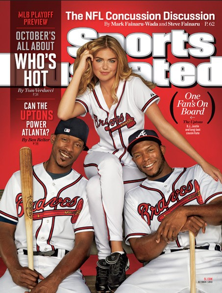 Kate Upton on Cover of SI