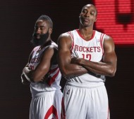 NBA, WESTERN CONFERENCE, HOUSTON ROCKETS, DWIGHT HOWARD, JAMES HARDEN