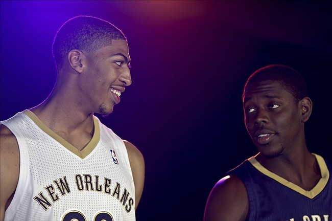 NBA, WESTERN CONFERENCE, NEW ORLEANS PELICANS, JRUE HOLIDAY, ANTHONY DAVIS