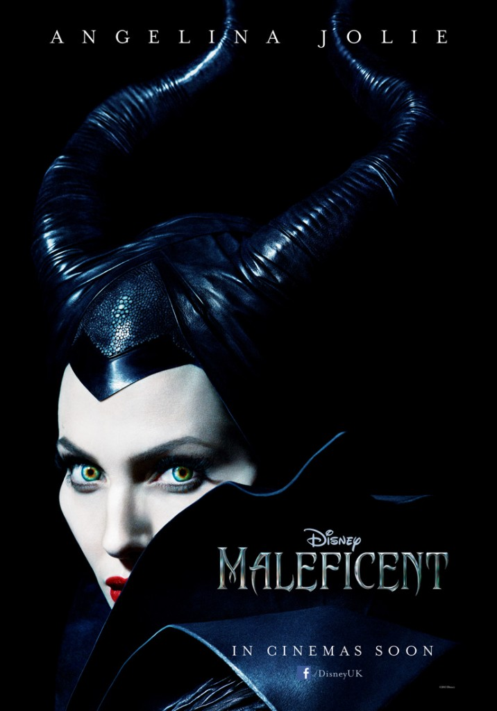 First poster of Angelina Jolie as Disney's Maleficent