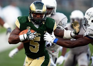 CSU RB Kapri Bibbs leads the nation in rushing touchdowns (Hyoung Chang/Denver Post/Getty Images)