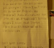 funny kid letters to athletes