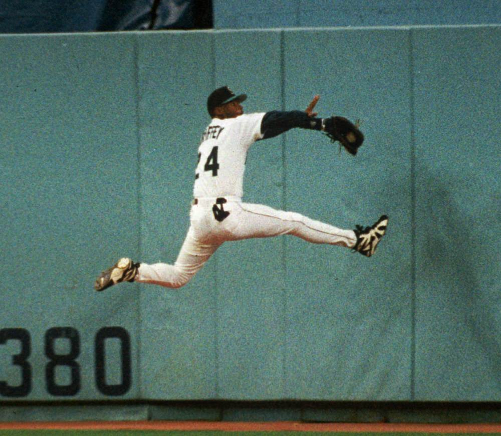 WATCH: Ken Griffey Jr still has that magical swing