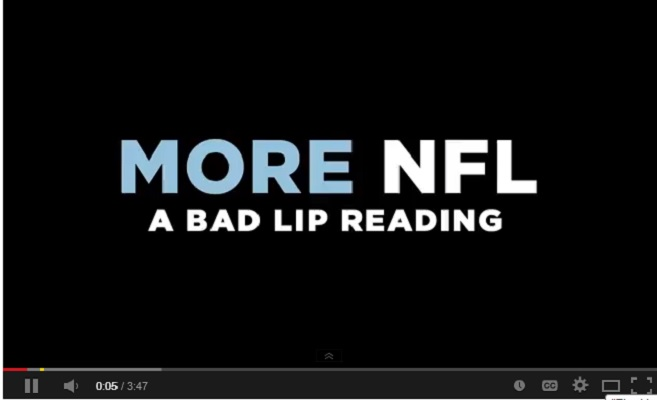 "WATCH: Another Super Bowl calls for ""More NFL"" Bad Lip Reading"