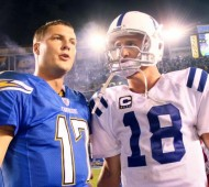 Peyton Manning and Phillip Rivers