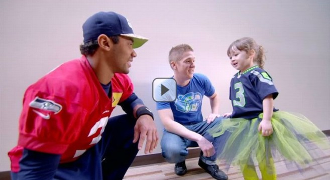 3 year old girl knows EVERYTHING about the Seahawks