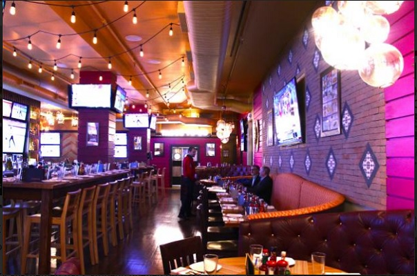 This Sports Bar Thinks Pink Walls Will Attract More Females