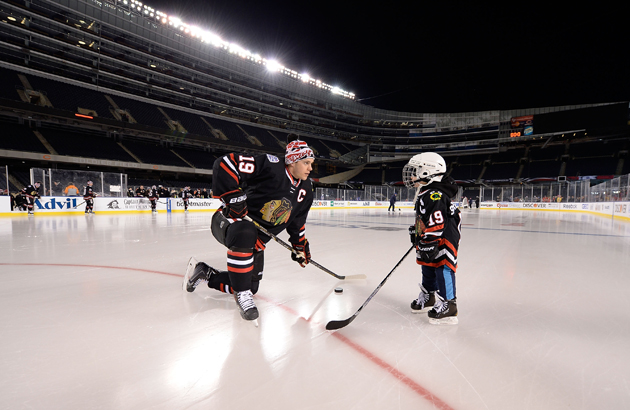 2014 NHL Stadium Series - Chicago - Practice Day And Family Skate