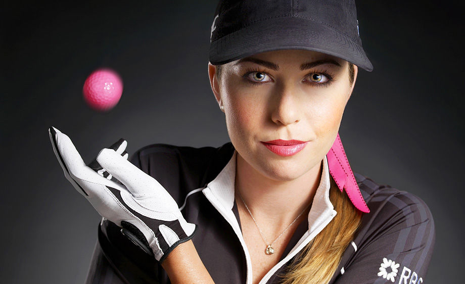 Paula Creamer nails 75ft putt to win HSBC Women's Champions tournament
