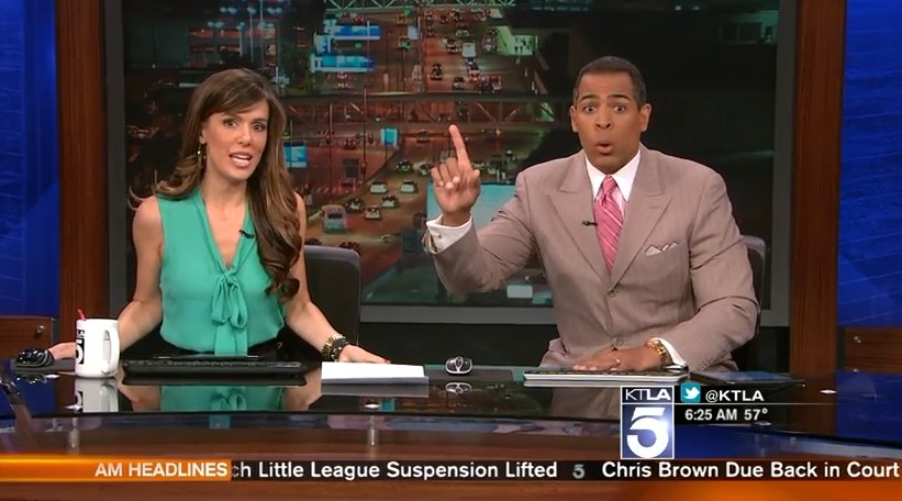 WATCH: LA News Anchors Can't Handle This Morning's Minor Earthquake