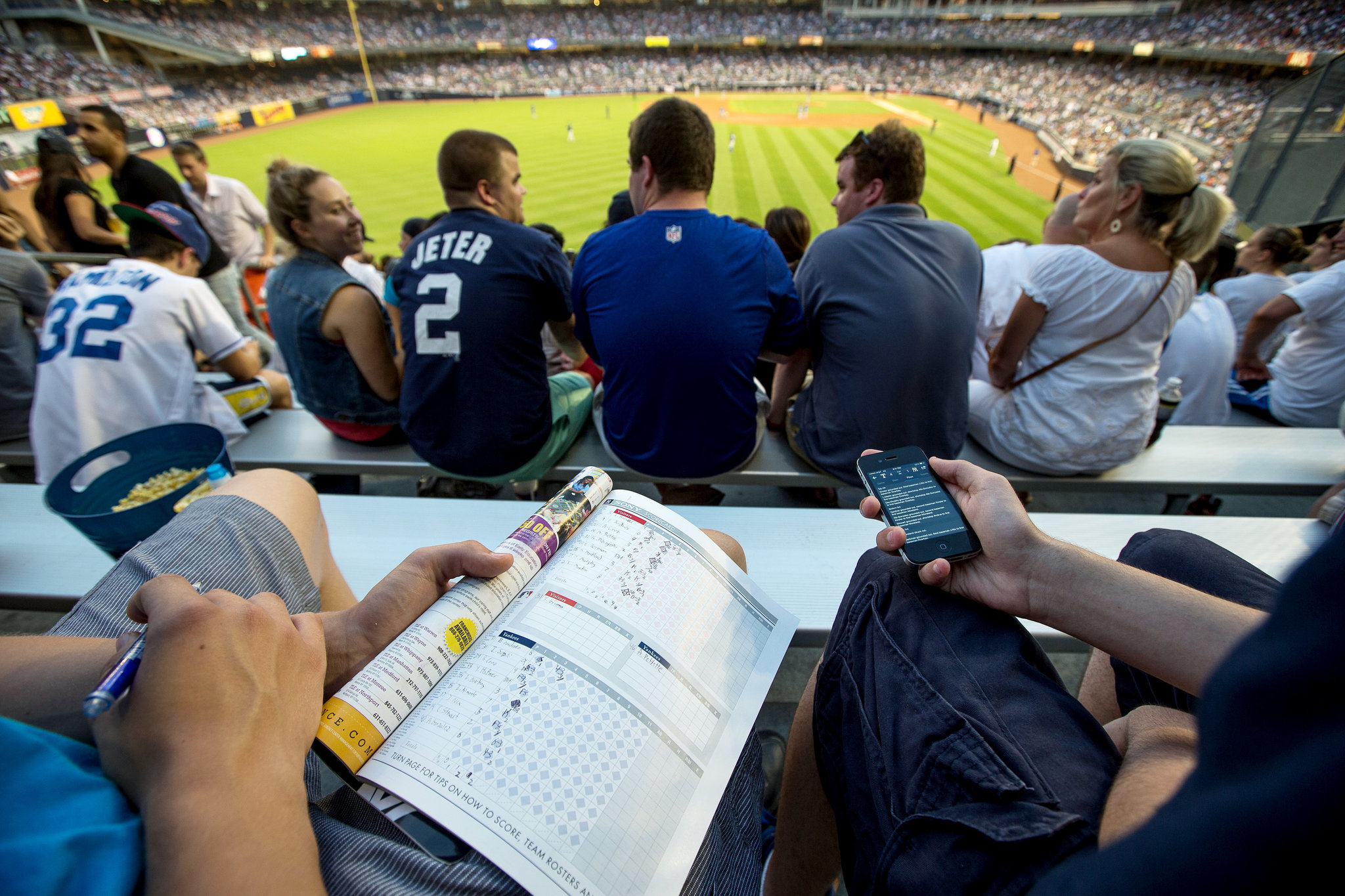 How to understand baseball stats in a game