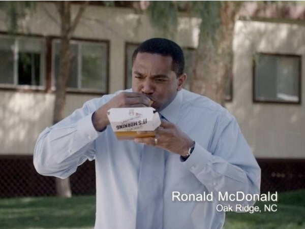 "@TacoBell SLAYS McDonald's with new ""Ronald McDonald"" ad"