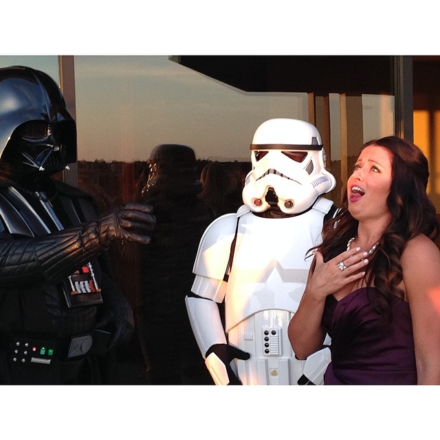 star wars vegas wedding