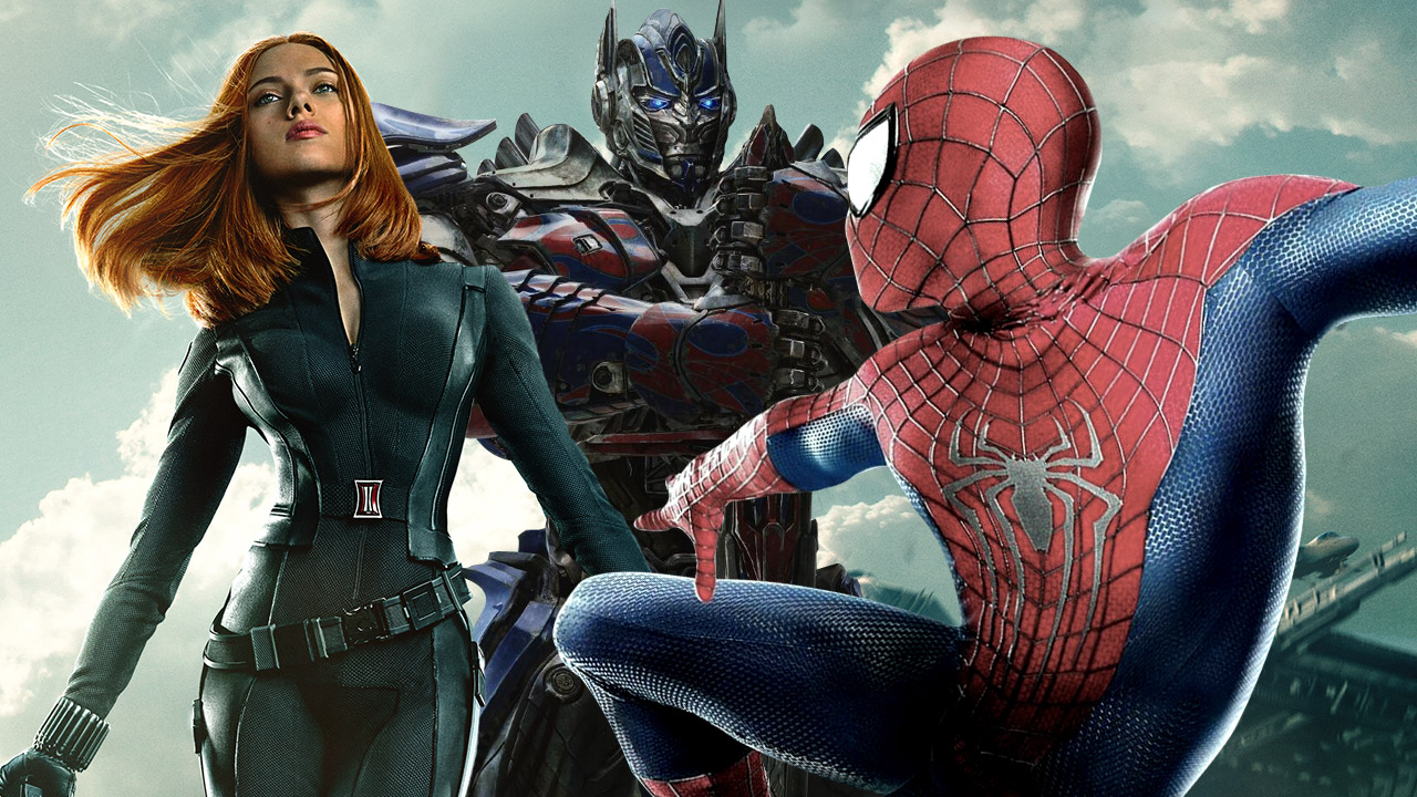 The Biggest Super Hero Movies of the Summer