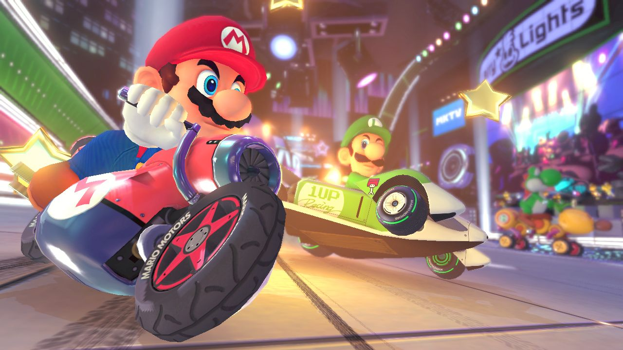 New Mario Kart 8 Looks Great in HD!