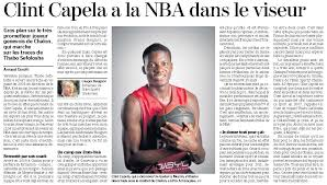 Clint Capela, NBA Draft