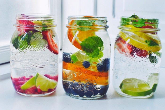 fruit infused water how do you make a healthy fruit smoothie
