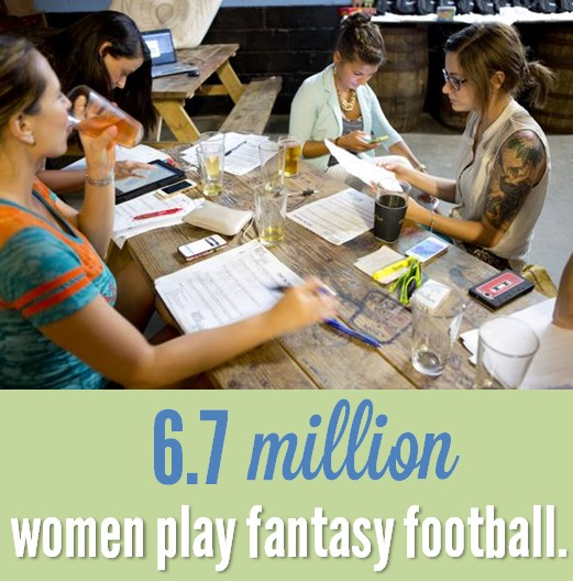 women who play fantasy football