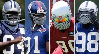 "NFL Says ""No Way"" To Non-Standard Facemask for 2014"