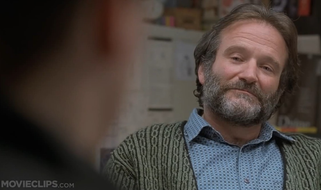 Watch Robin Williams' Redsox Story in Good Will Hunting