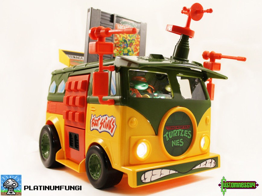 TMNT Van Nintendo Mod Is The Most Gorgeous Thing You'll See All Day
