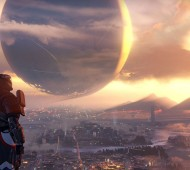 A Guardian gazes out over The City