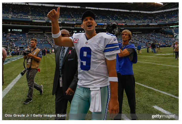 Love It or Hate It: Tony Romo Has Earned Your Respect