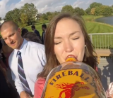 These People Put GoPro Camera On Liquor Bottle At A Wedding
