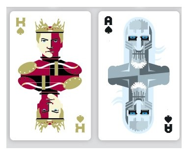 Homeland, Game of Thrones Playing Cards