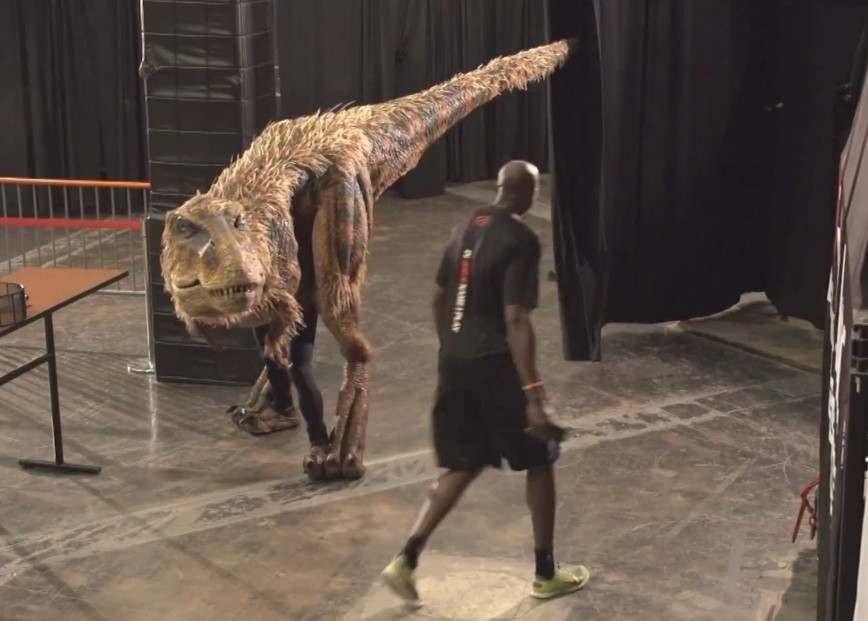 Watch These Suns Players Get Scared By Velociraptor