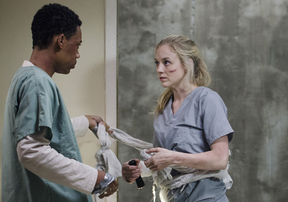 The Walking Dead, Emily Kinney, Tyler James Williams