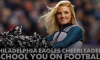 Eagles Cheerleaders Explain Zone Read Option, No Huddle Offense