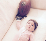 Sam Ponder's Baby Girl Can Make Odell Beckman Jr's Catch All Day