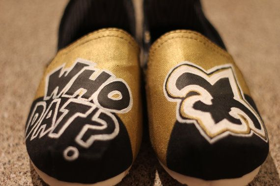 Who dat sneakers