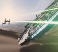 millennium falcon Star Wars Force Awakens
