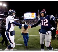 Peyton manning vs. tom brady