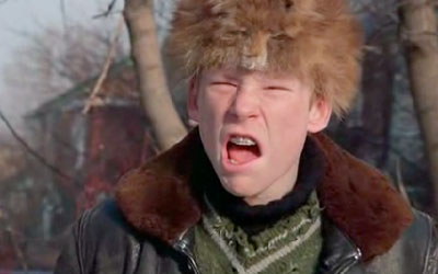 And when Farkus grew up, he played for the Detroit Lions
