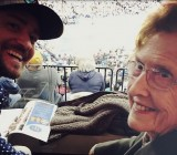 Justin Timberlake treats his Granny to a basketball game