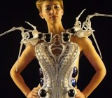 This robotic Spider Dress will stab if you get too close
