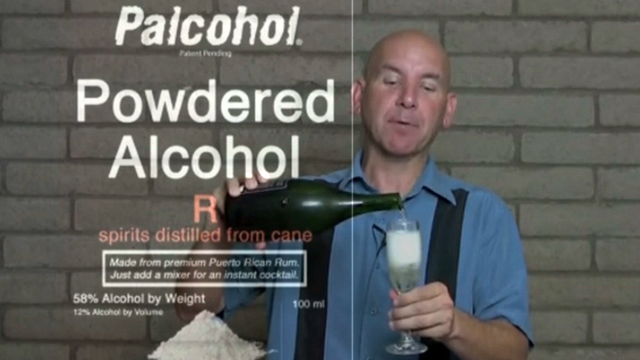 Sports fans rejoice because powdered alcohol is now legal