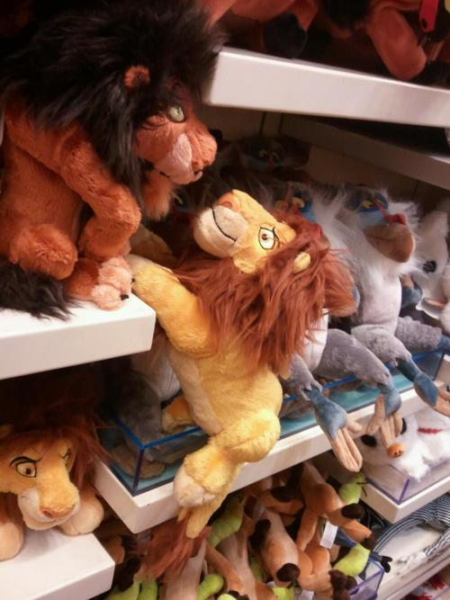 mufasa scar stuffed animals