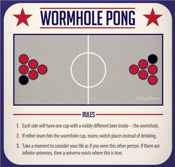 wormhole beer pong
