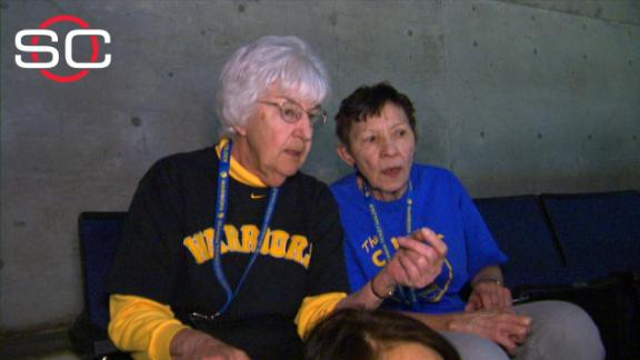78-Year-Old Golden State Warriors Fans Are Amazing