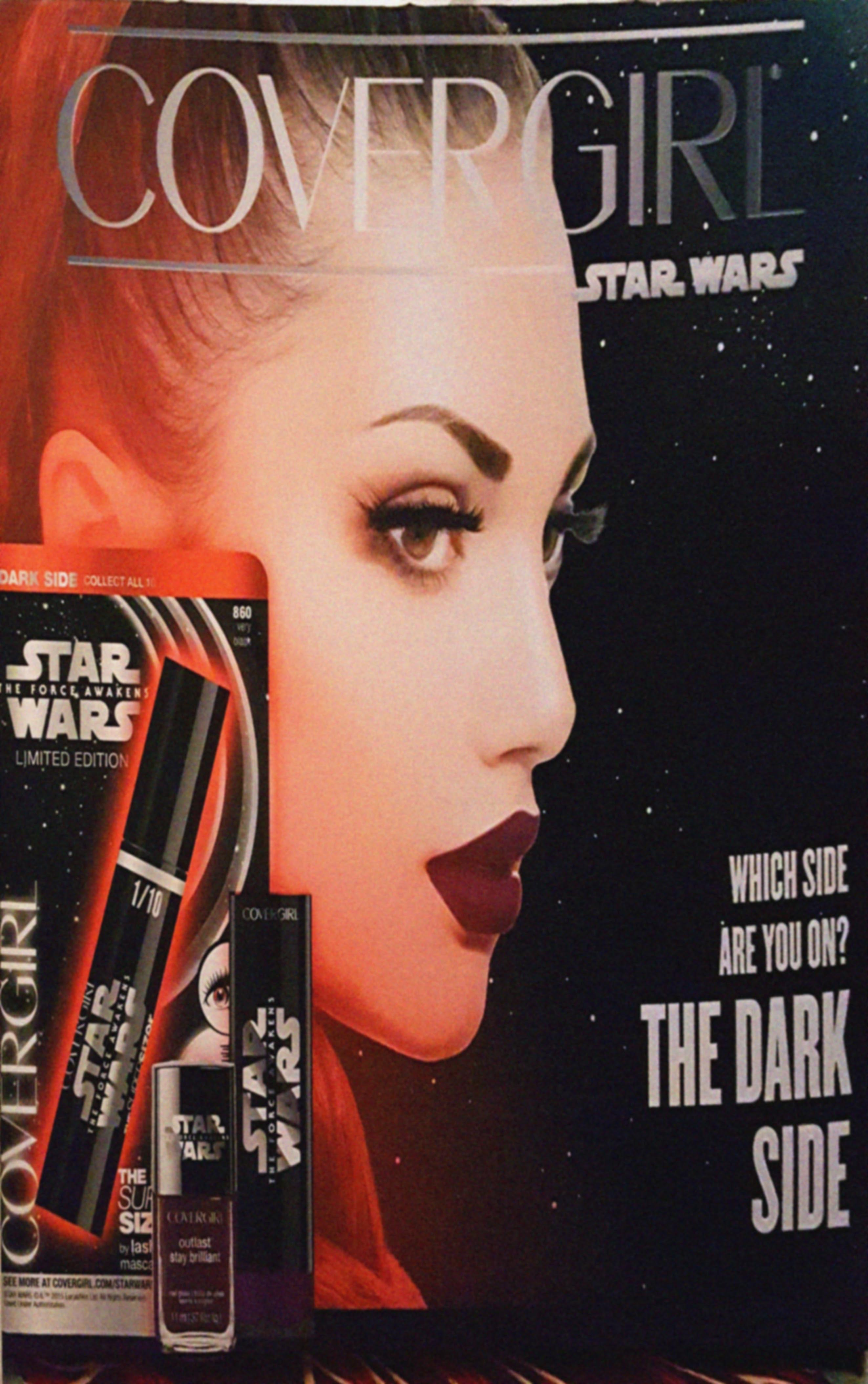 CoverGirl launches new Star Wars makeup line