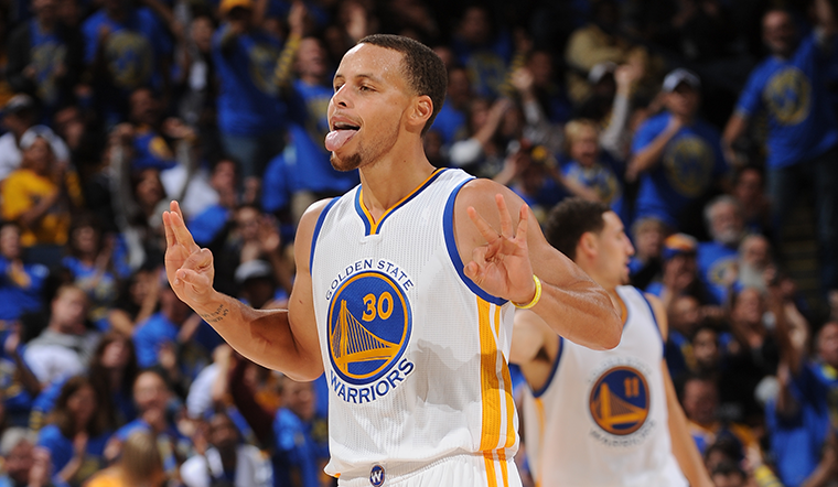 Steph Curry with signature Game 5, continues to demolish records