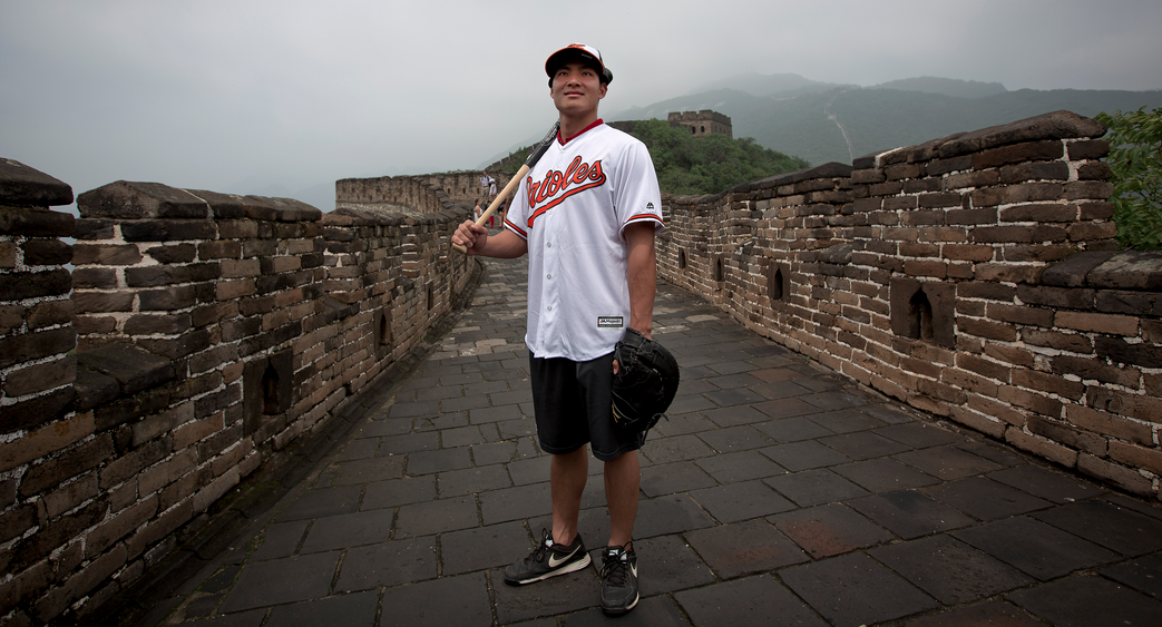 Xu Guiyan ready to make history in MLB
