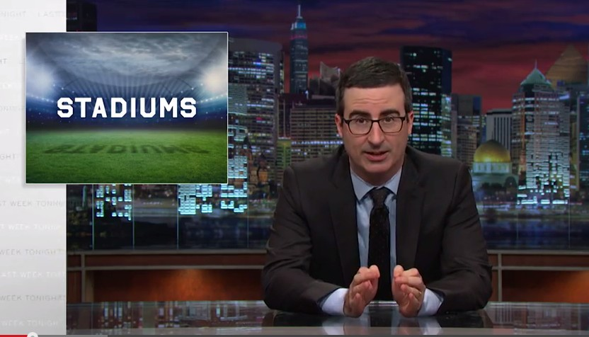 John Oliver Tackles Stadium Funding in Latest Video