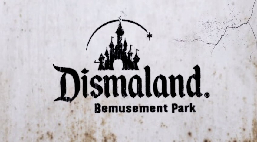 Street artist Banksy reveals his creepy version of Disneyland